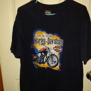 Mens Size XL Harley Davidson Short Sleeve Shirt
